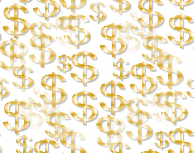 Money sign background