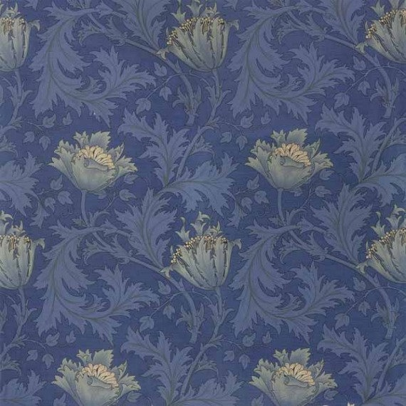 reproduction of original William Morris design and colors Art nouveau 570x570