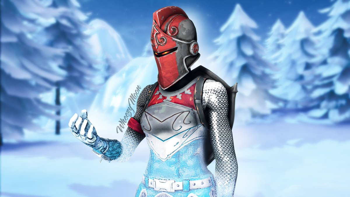 [17+] Frozen Red Knight Fortnite Wallpapers on WallpaperSafari