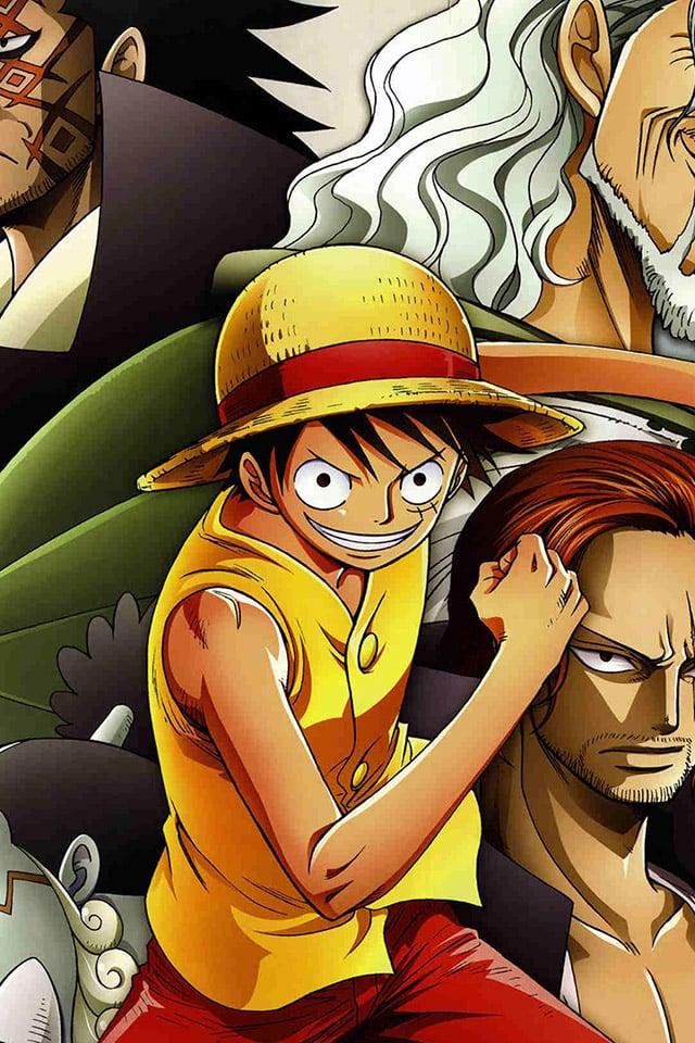 One Piece Hd Wallpaper Fighting Parallax Logo New World