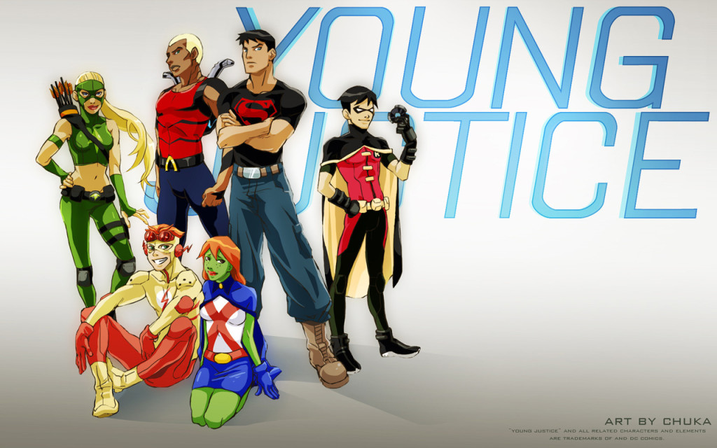 young justice wallpaper 1024x640