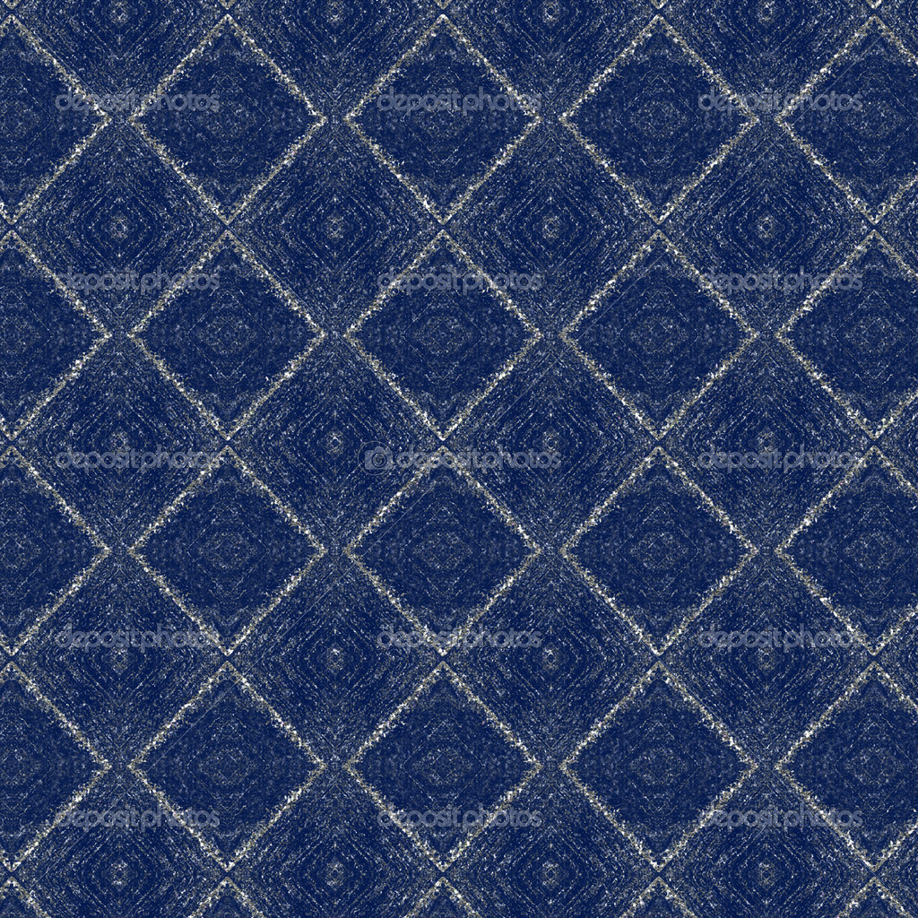 Checkered Wallpaper: Navy Blue Plaid Wallpaper