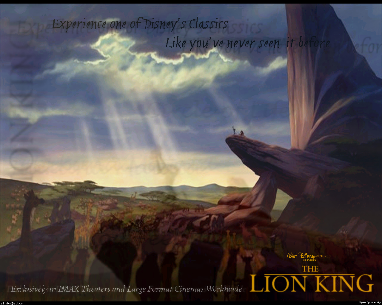 The Lion King images The Lion King wallpaper photos 541250 1280x1024