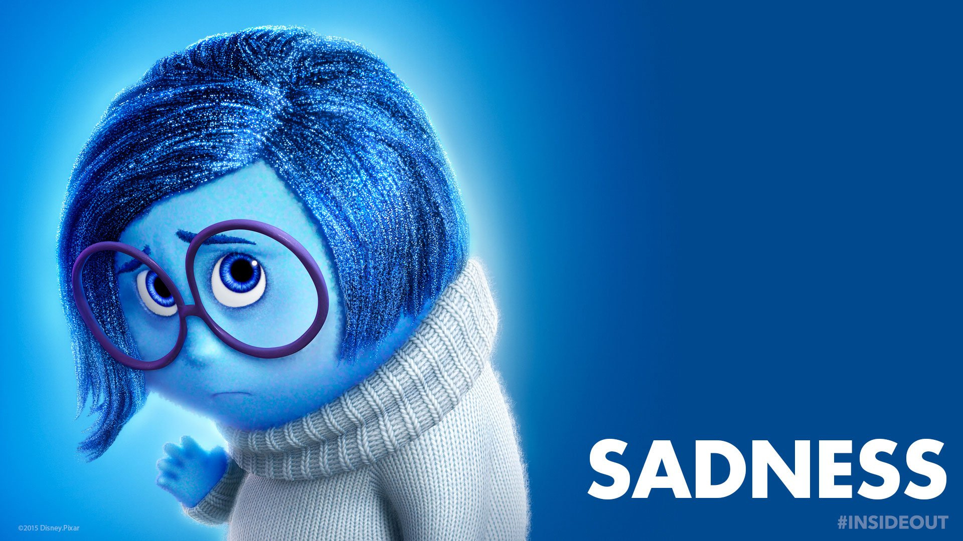 Inside Out Sadness Wallpaper backgrounds 2015 1920x1080