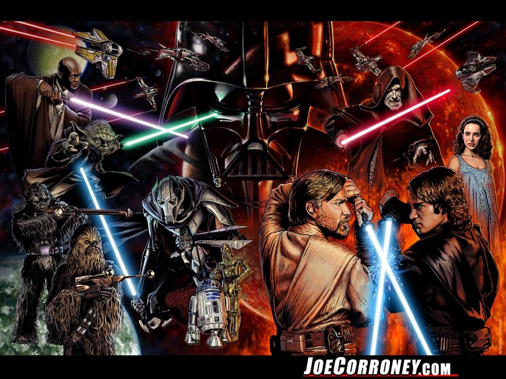 50 Star Wars Saga Wallpaper On Wallpapersafari