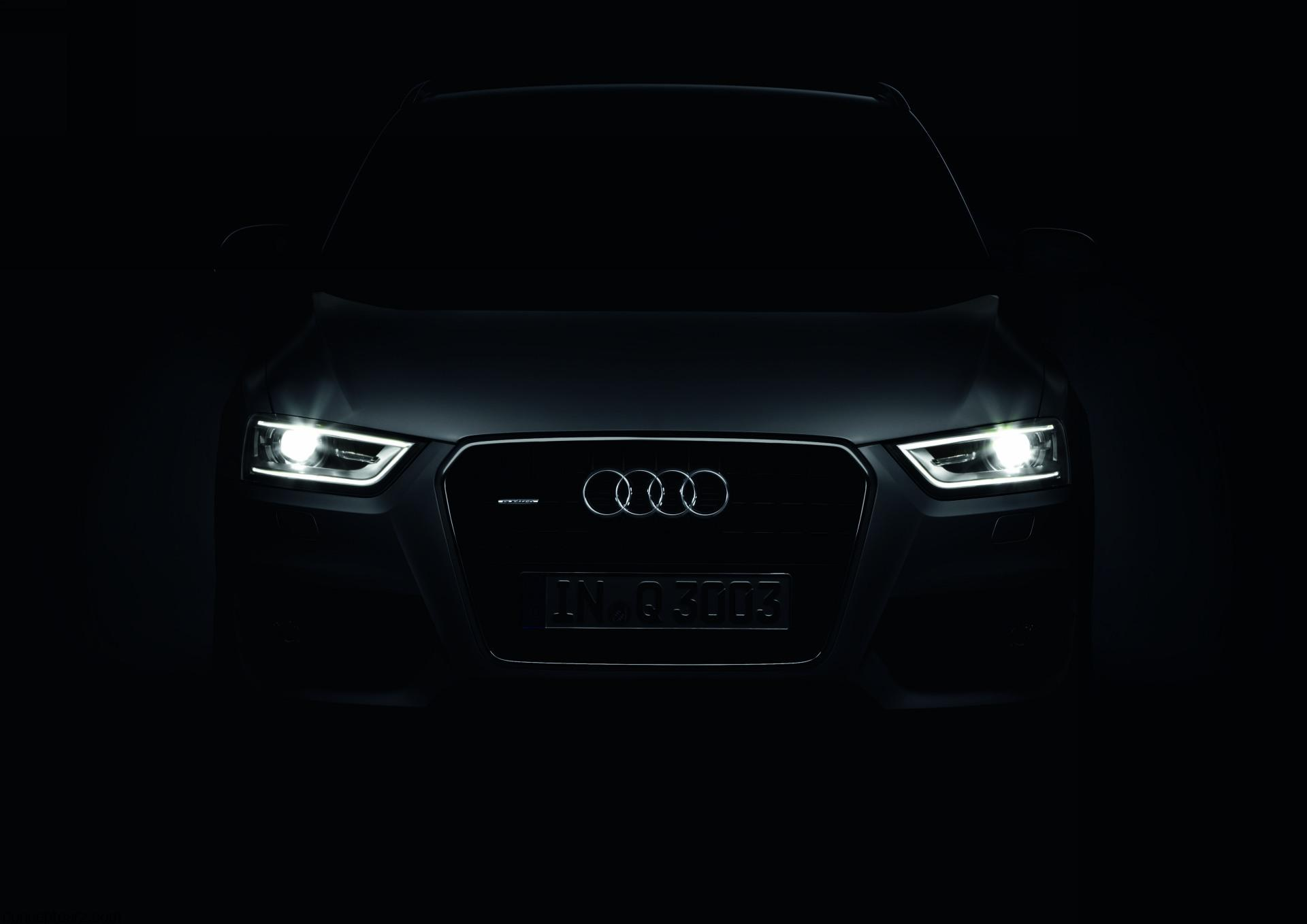 Audi a6 logo lighting led