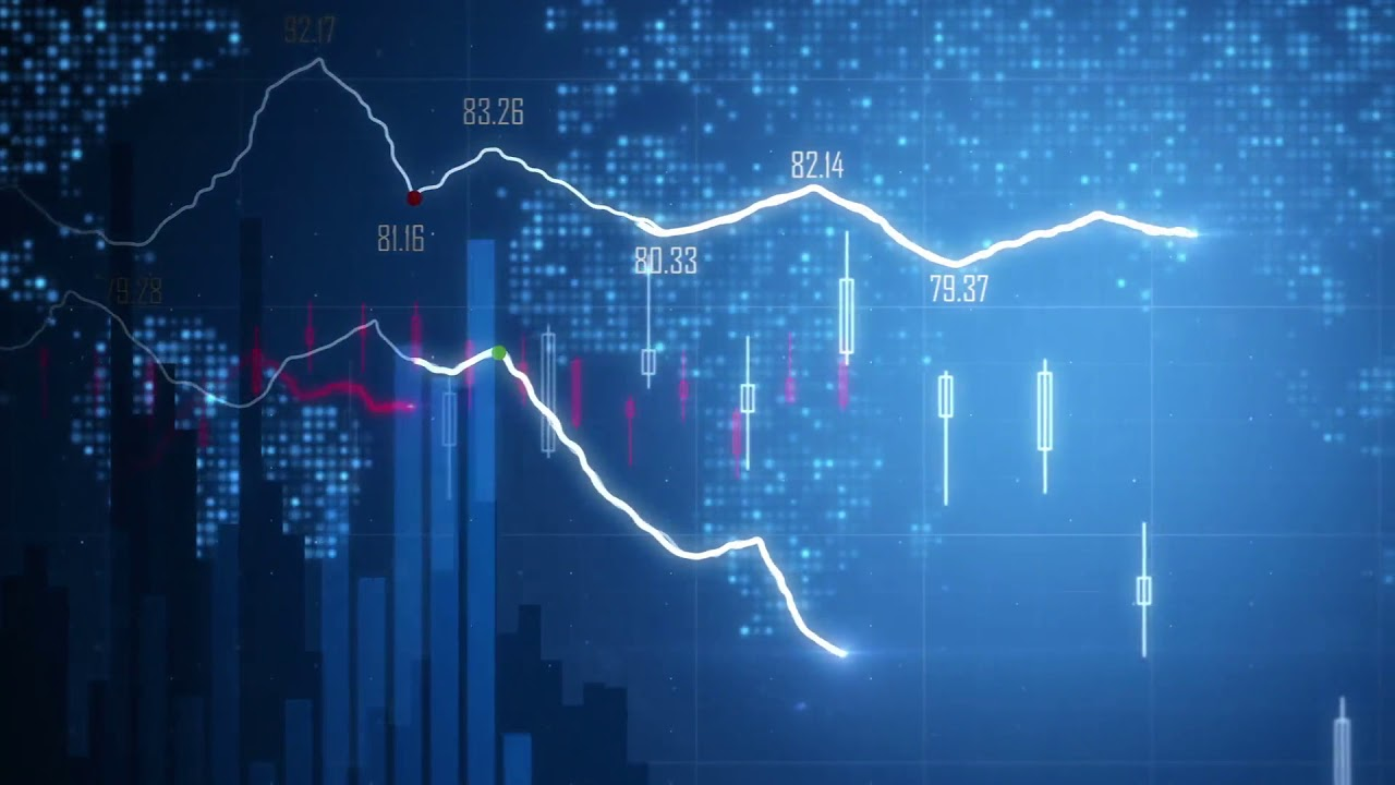 Forex Trading Background Video 1280x720