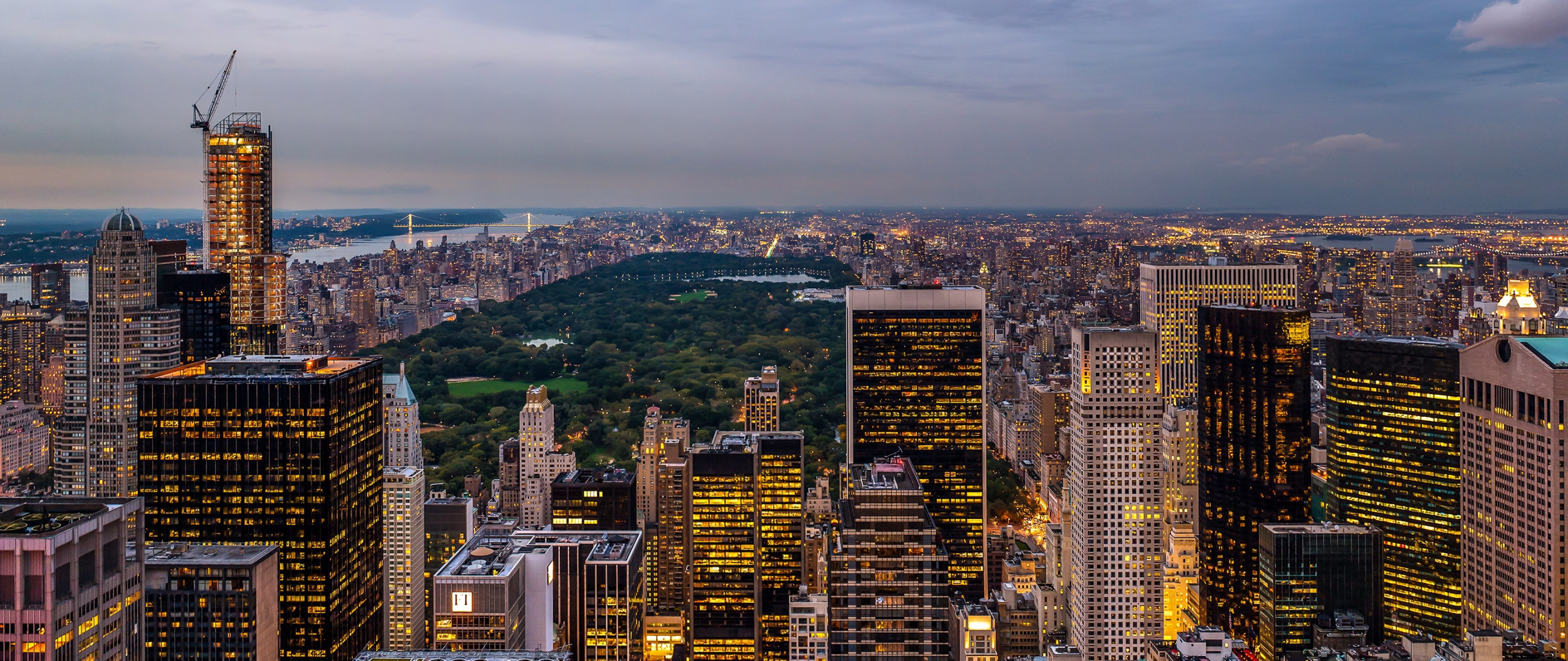 Download Wallpaper 2560x1080 Usa New york state New york 2560x1080