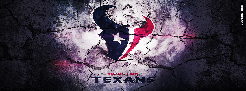 houston texans grunged logo houston texans aluminum logo facebook 851x315