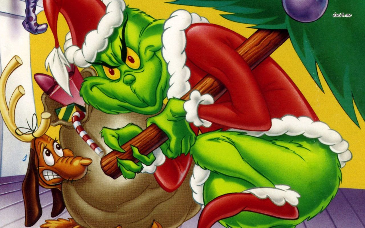 How the Grinch Stole Christmas wallpaper   Cartoon wallpapers   28273 1280x800
