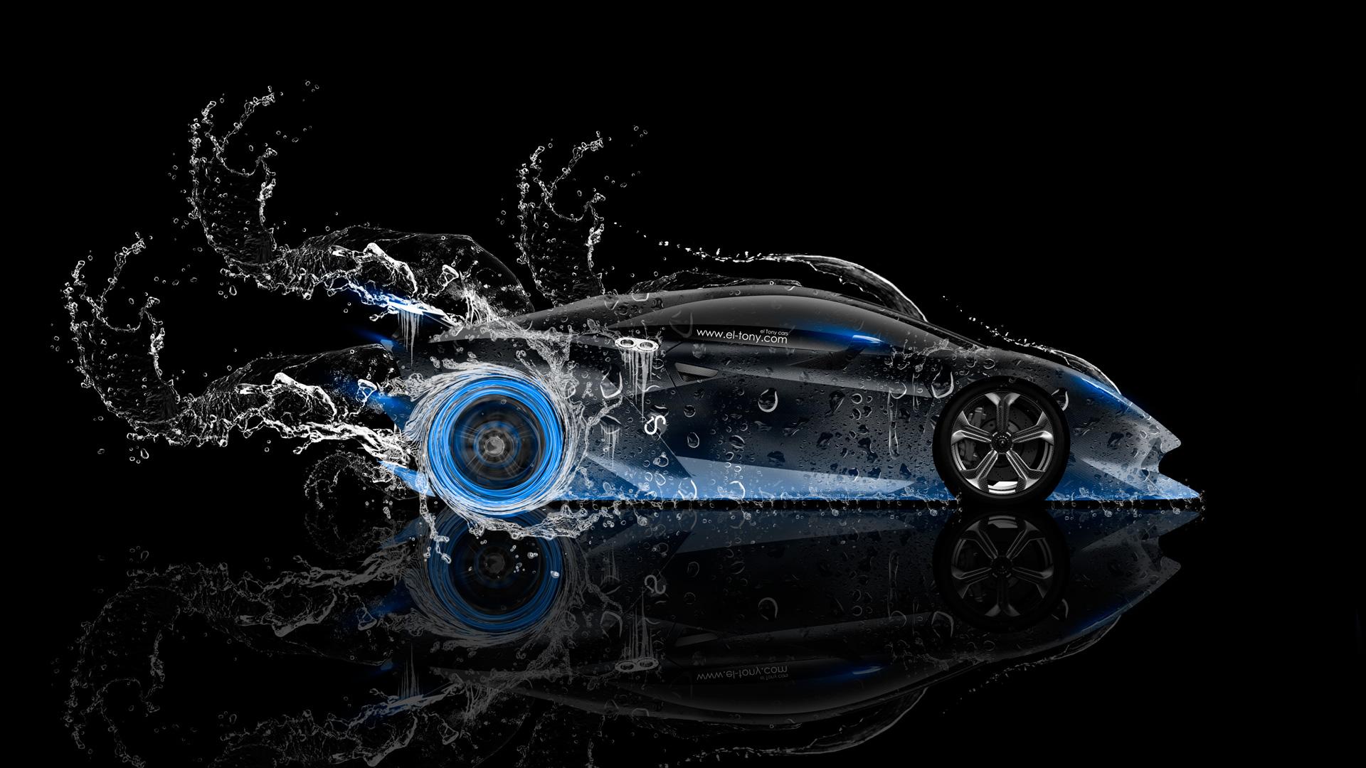 2014 Blue Neon HD Wallpapers Design By Tony Kokhan [wwwel Tonycom 1920x1080