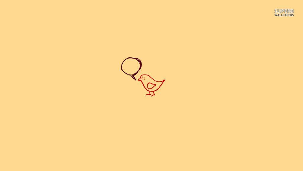 Chirpin Bird wallpaper 1024x578