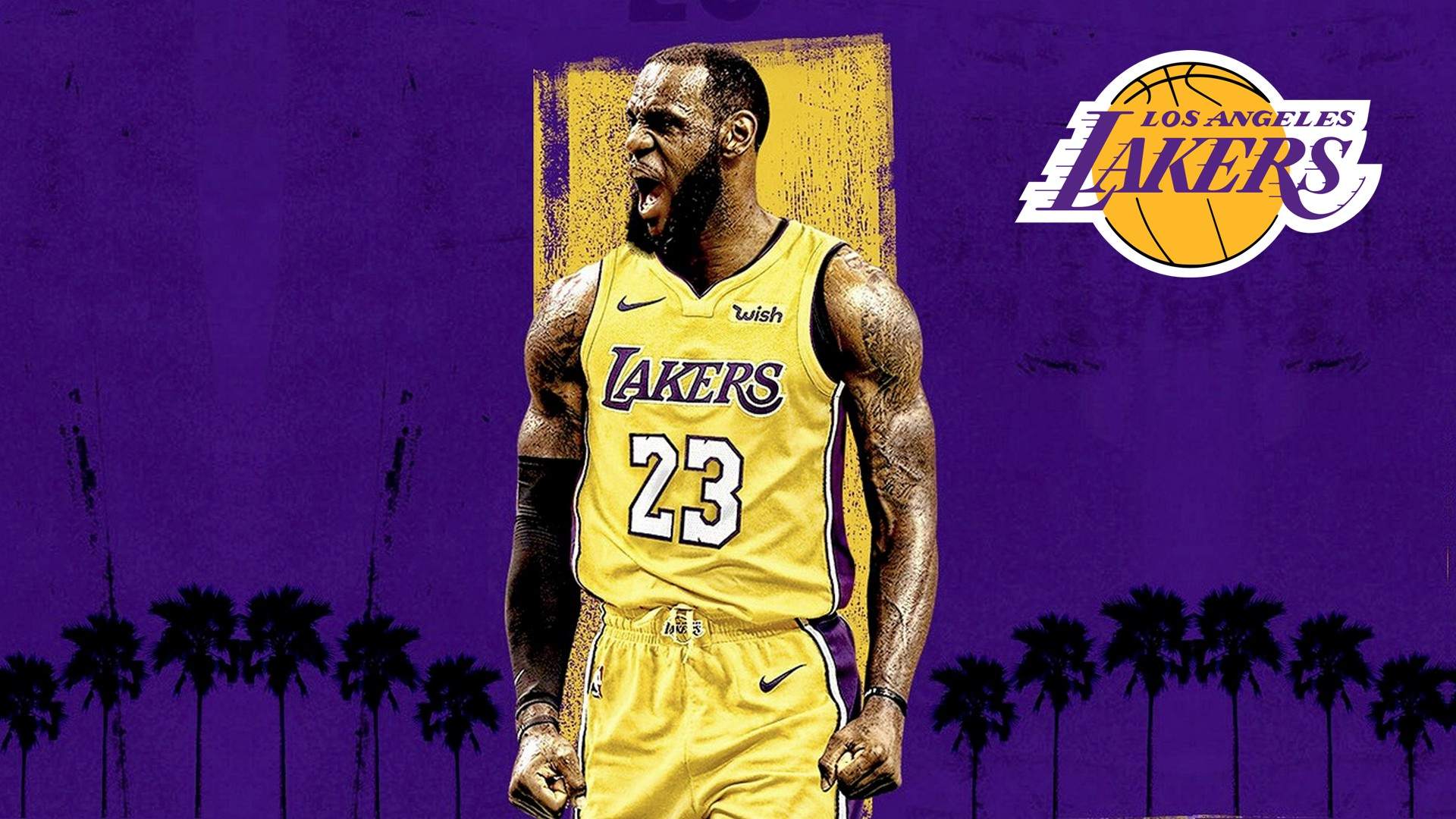 LeBron James Lakers Desktop Wallpapers 2020 Basketball Wallpaper 1920x1080
