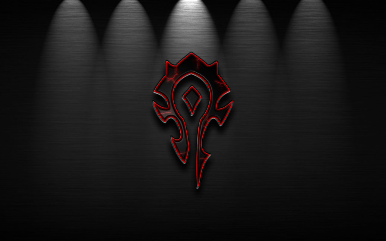 Free Download Horde Logo Wallpaper 1280x800 For Your