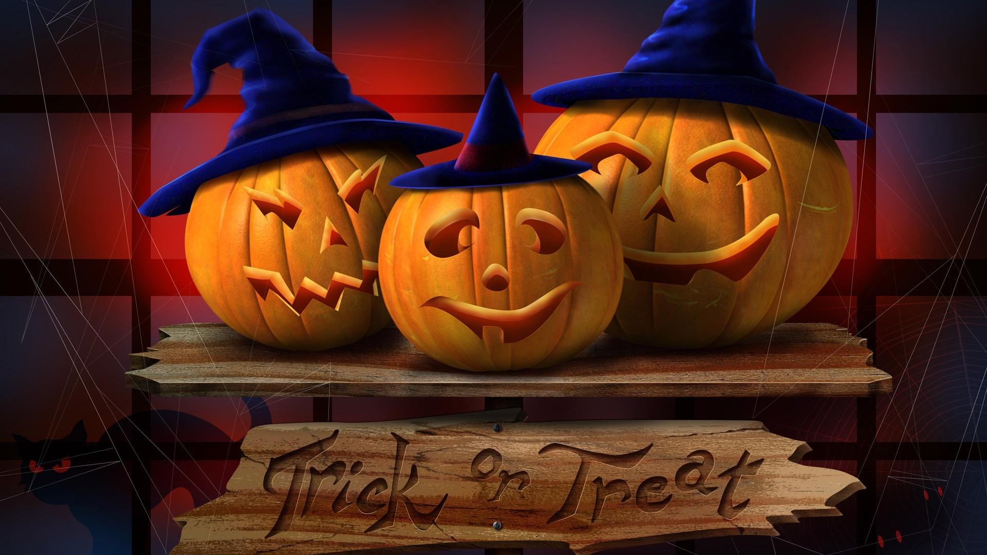 Download Halloween Wallpaper for Mac OS X El Capitan and 1920x1080