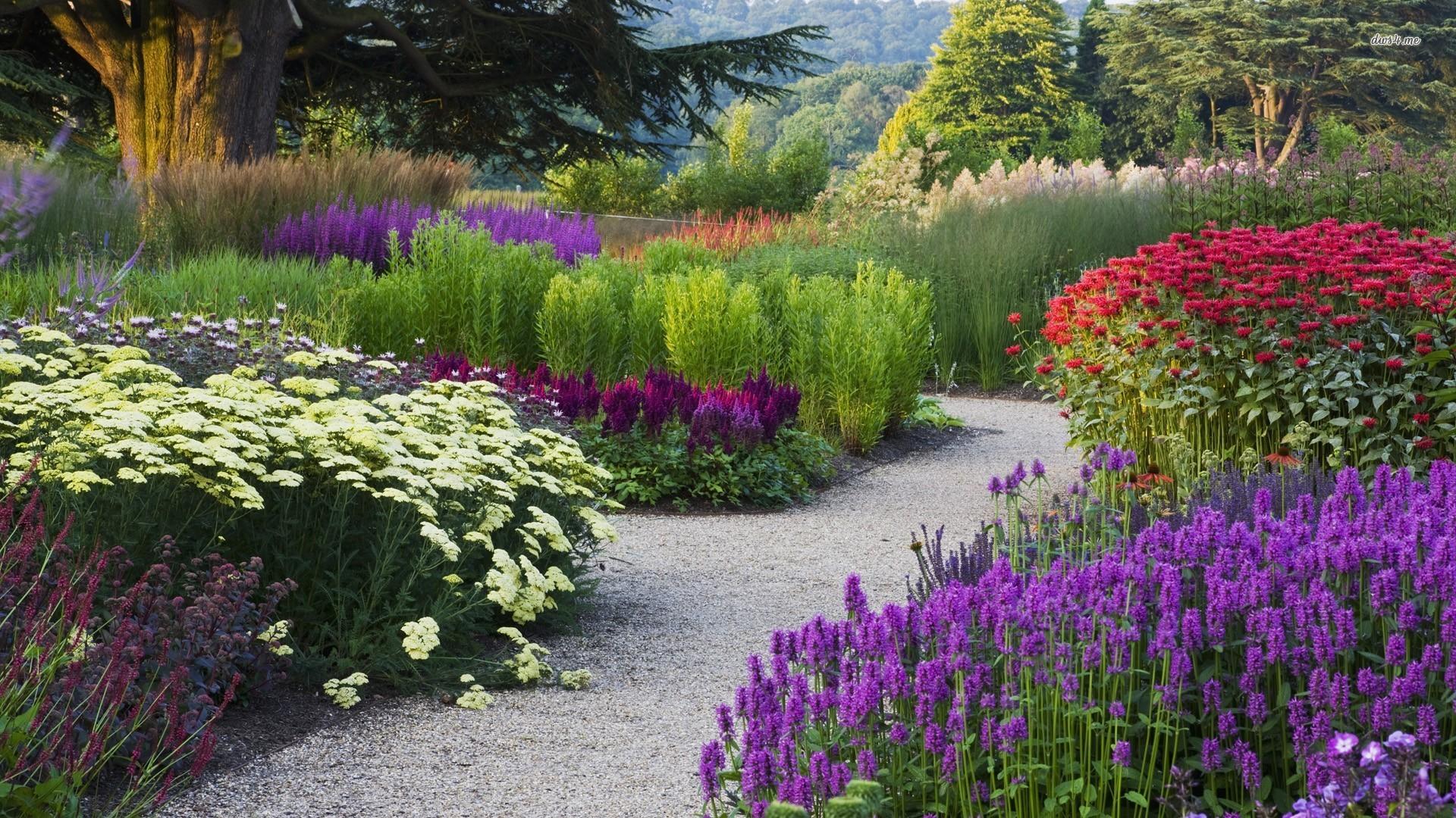 Flower garden wallpaper 1280x800 Flower garden wallpaper 1366x768 1920x1080