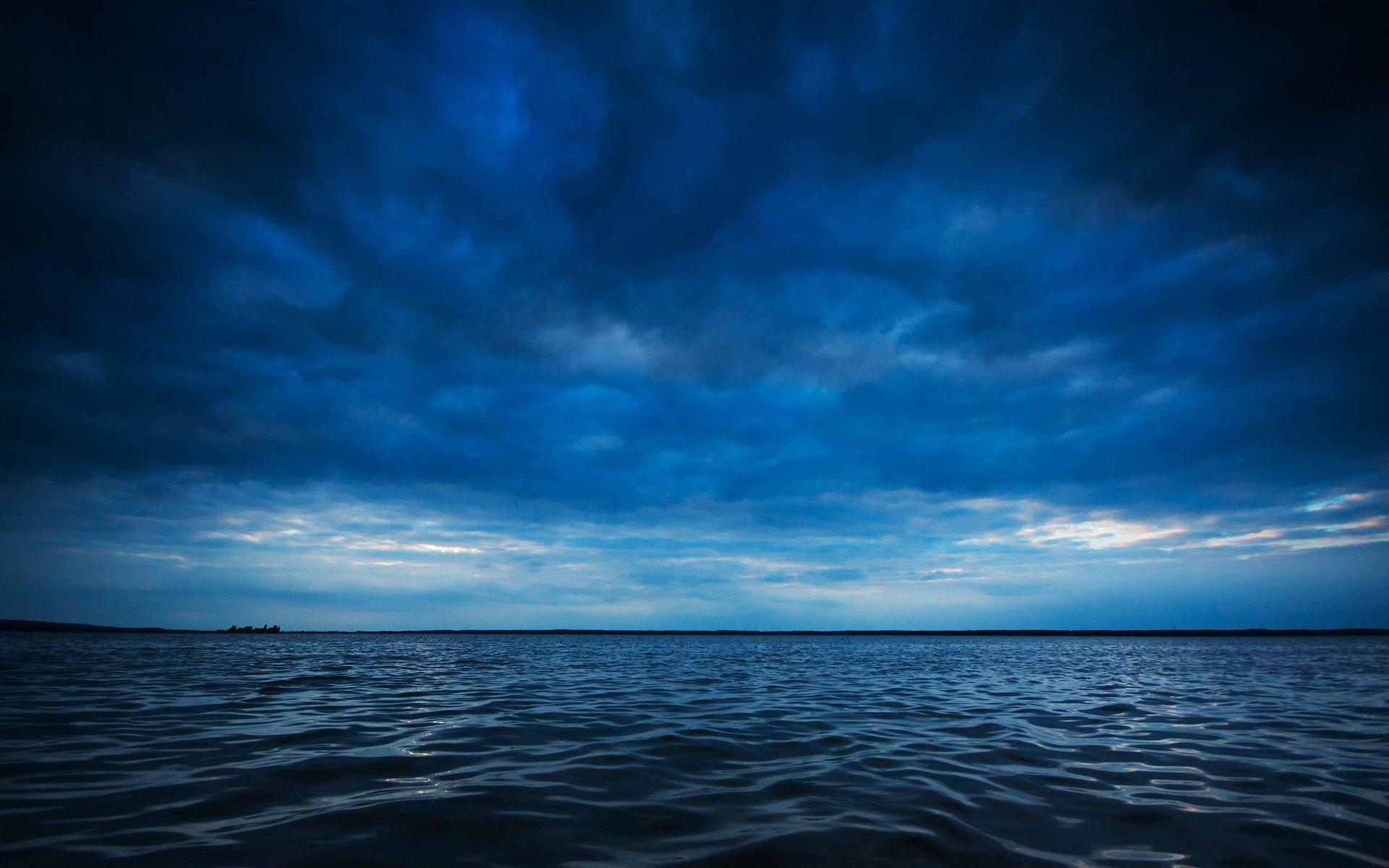 Ocean horizon wallpaper wallpapersafari - Wallpaper ocean blue ...