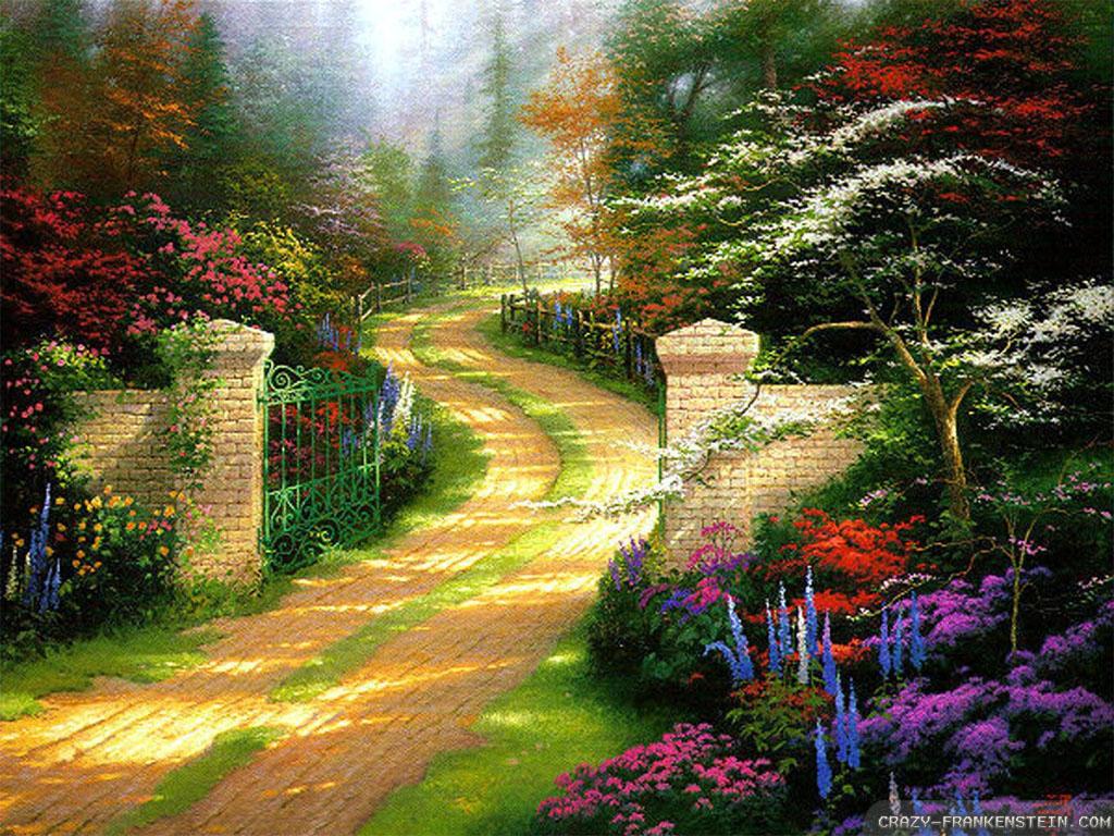 49 full screen spring wallpaper on wallpapersafari - Hp wallpaper nature ...