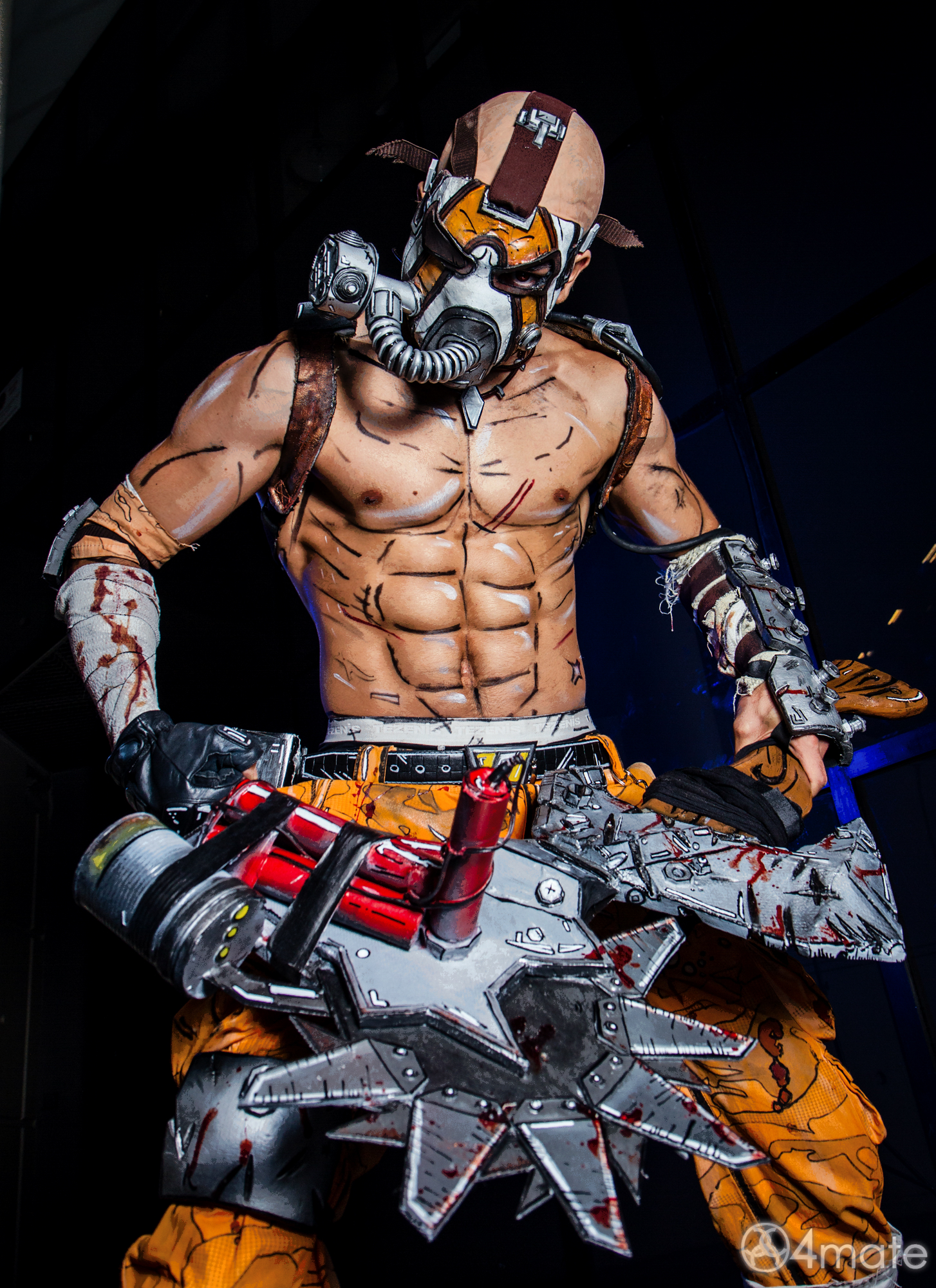 Collections Like Borderlands 2 Krieg Psycho And Me Color Ver By Sharrm 1454x2000