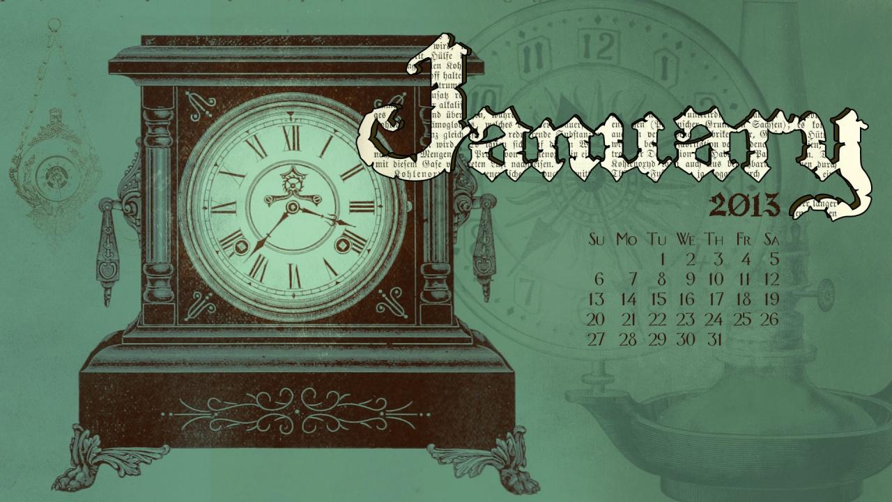 обои на рабочий стол часы и календарь скачать бесплатно № 204650 бесплатно