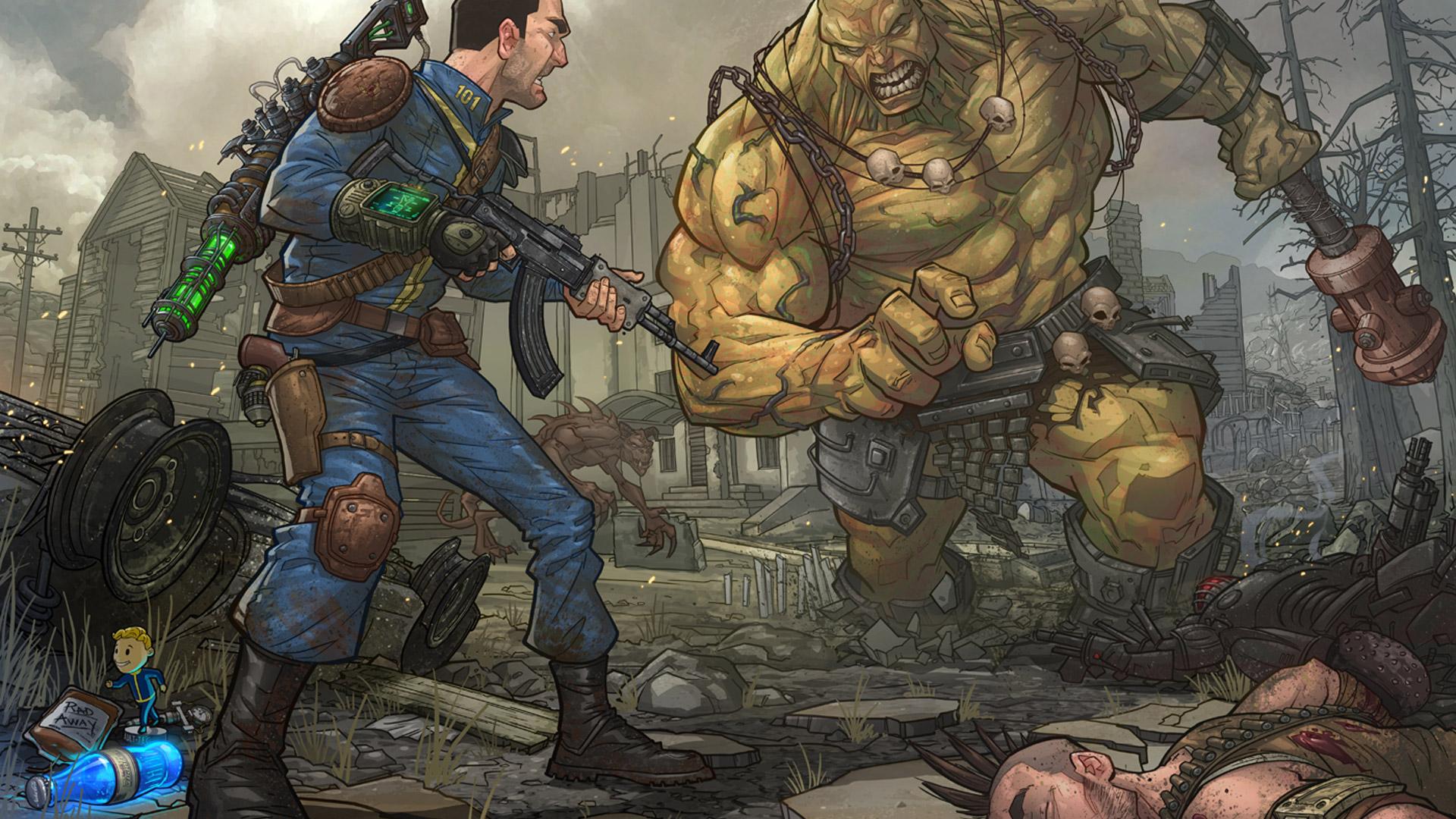 Fallout Wallpapers in 1080p - WallpaperSafari