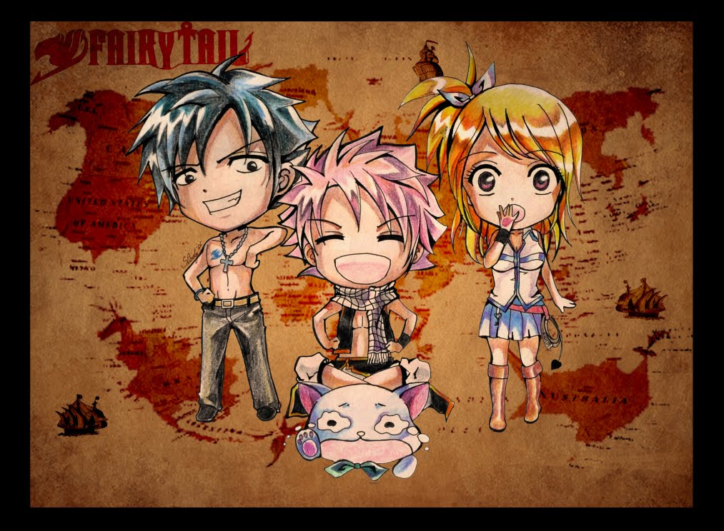 Fairy Tail Chibi Wallpapers 1013x744