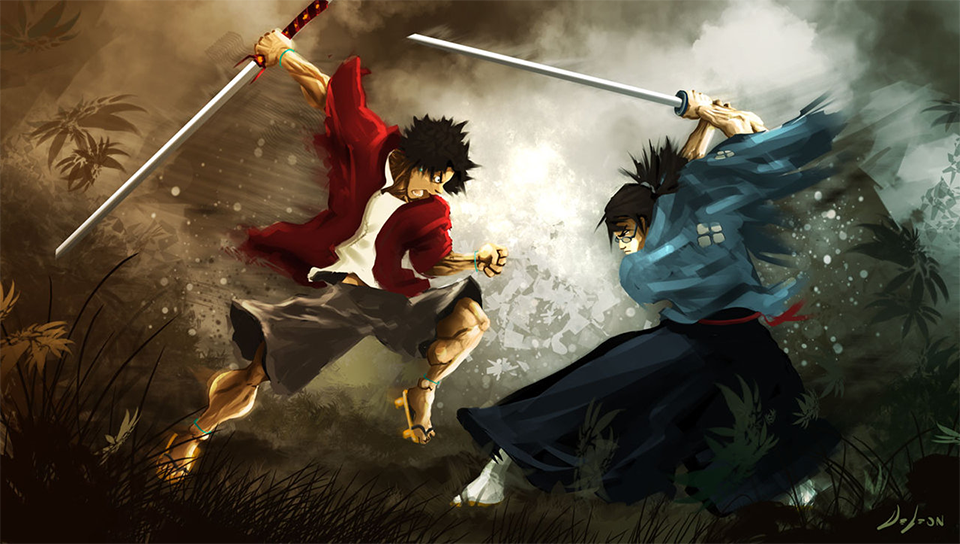 Free Download Samurai Champloo Ps Vita Wallpapers Ps Vita