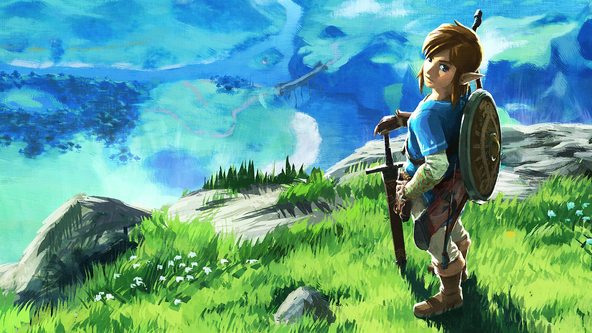 Free Download Zelda Breath Of The Wild Hd Wallpaper Background