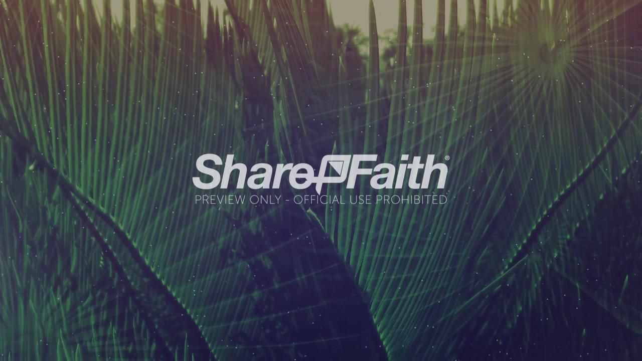 Worship Background   Palm Sunday Hosanna 1280x720