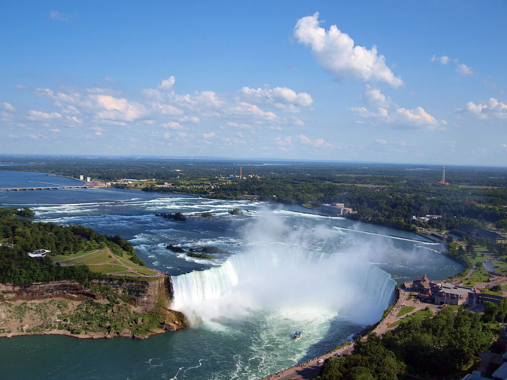 Canadian Horseshoe Falls   Splendid Wallpaper HD 1024x768
