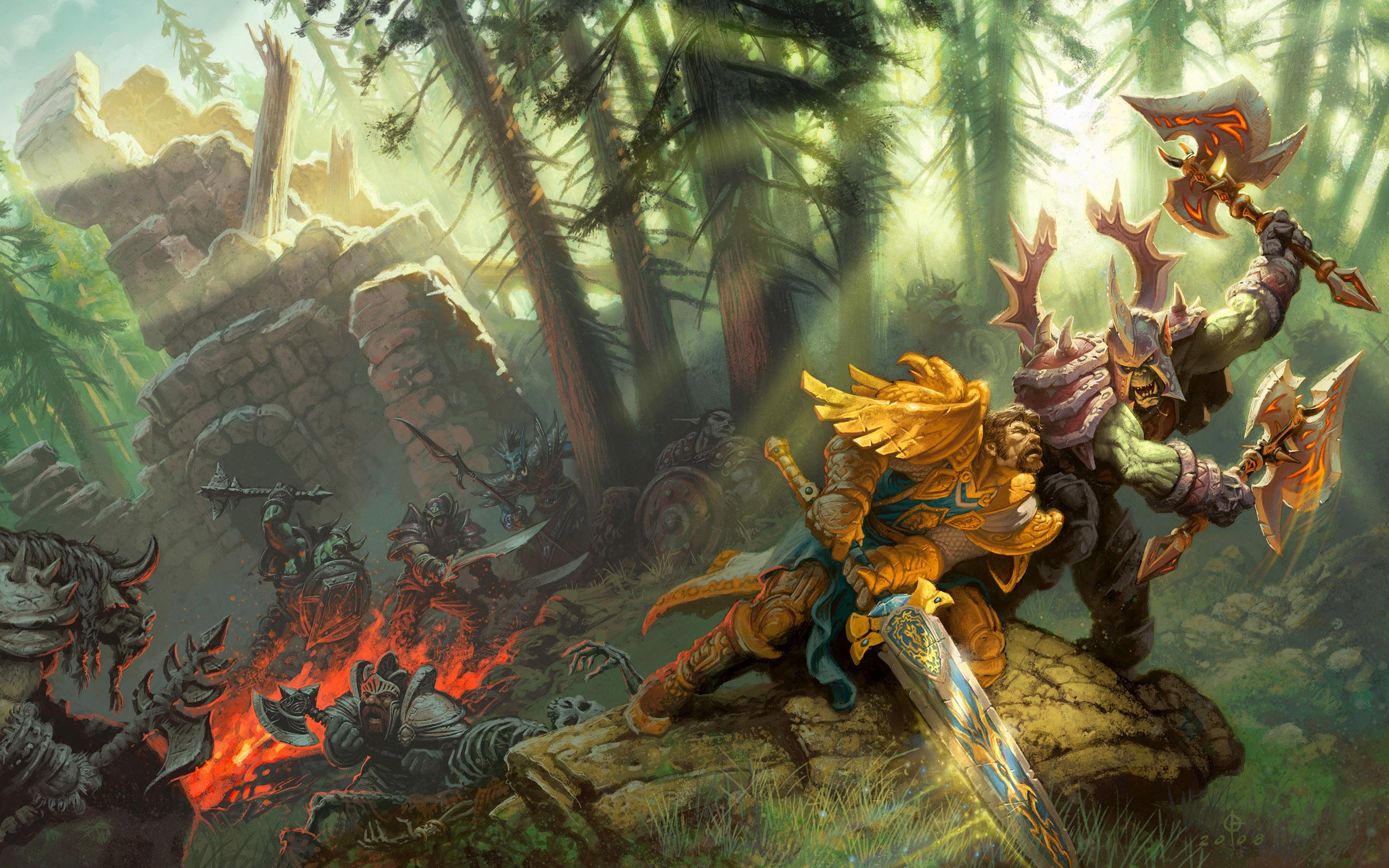 World Of Warcraft Wallpaper Hd 2560x1600