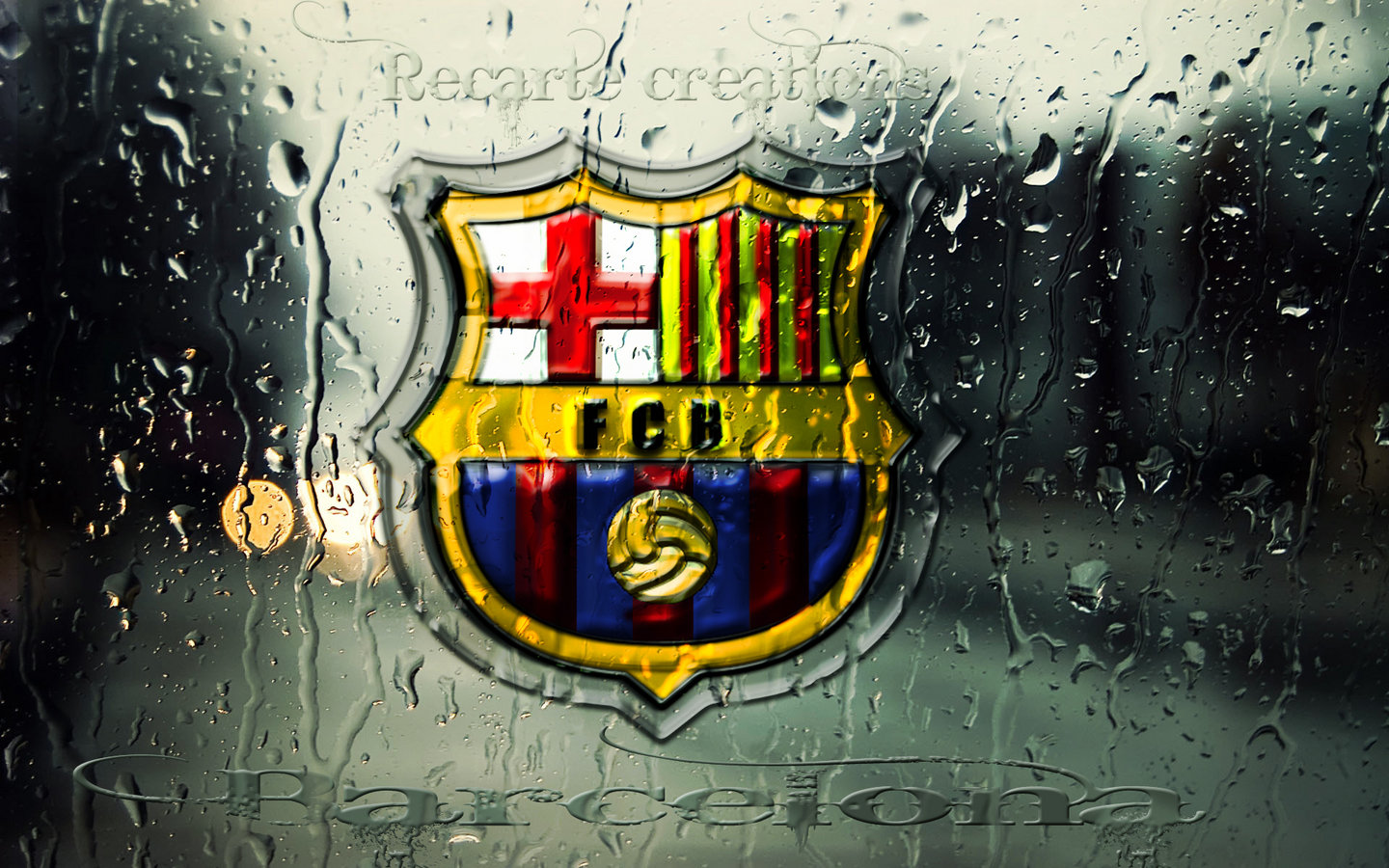 FC Barcelona Logo HD Wallpapers 2013 2014 1440x900