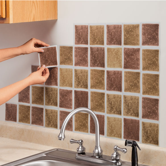 47 Self Stick Wallpaper Squares On Wallpapersafari