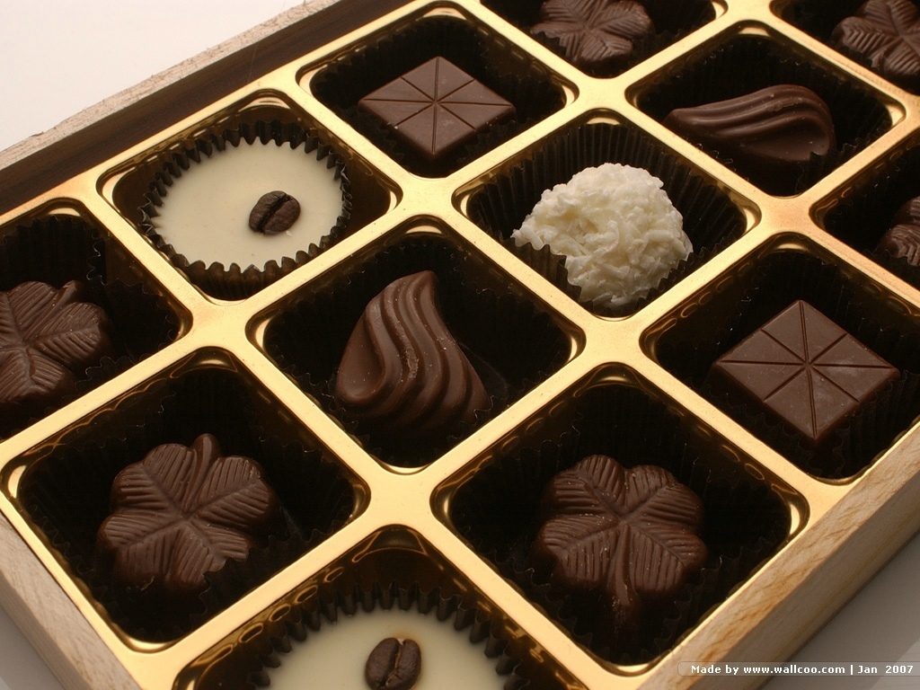 Chocolate images Box of Chocolate Candy wallpaper photos 2317057 1024x768