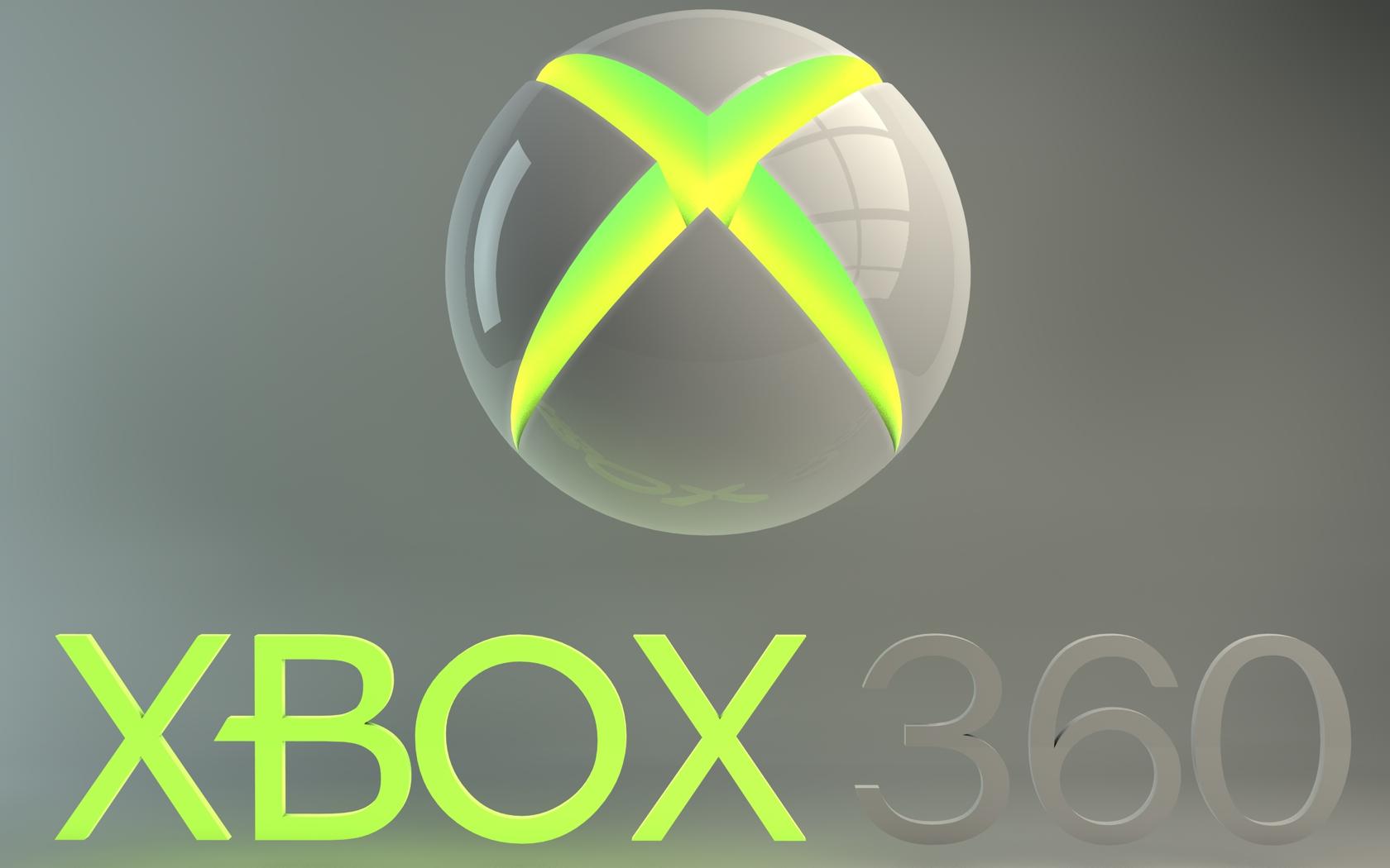 xbox 360 logo by dracu teufel666 customization wallpaper 3 dimensional 1680x1050