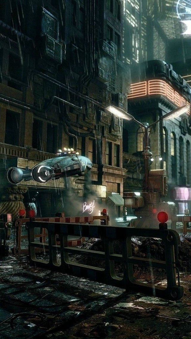 Blade Runner Wallpaper   iPhone Wallpapers 640x1136