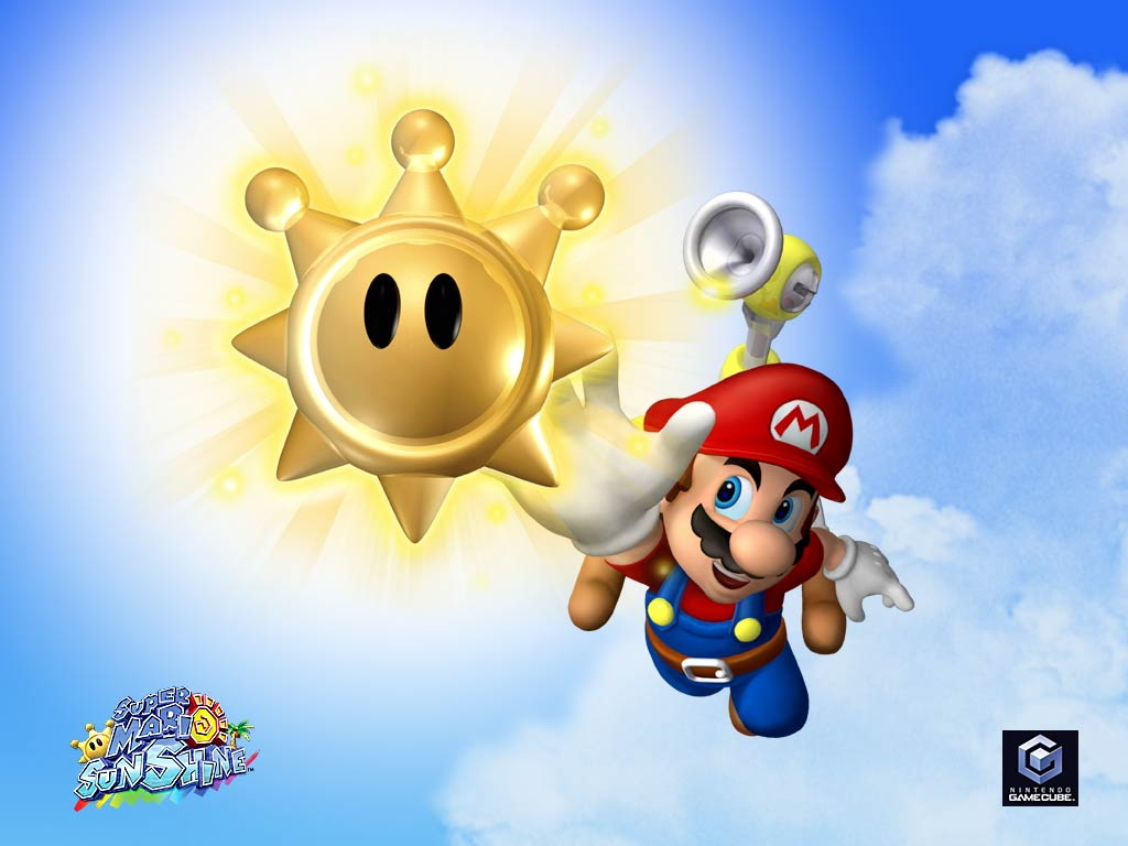 Free Download Top Hd Super Mario Sunshine Wallpaper Games Hd 11353