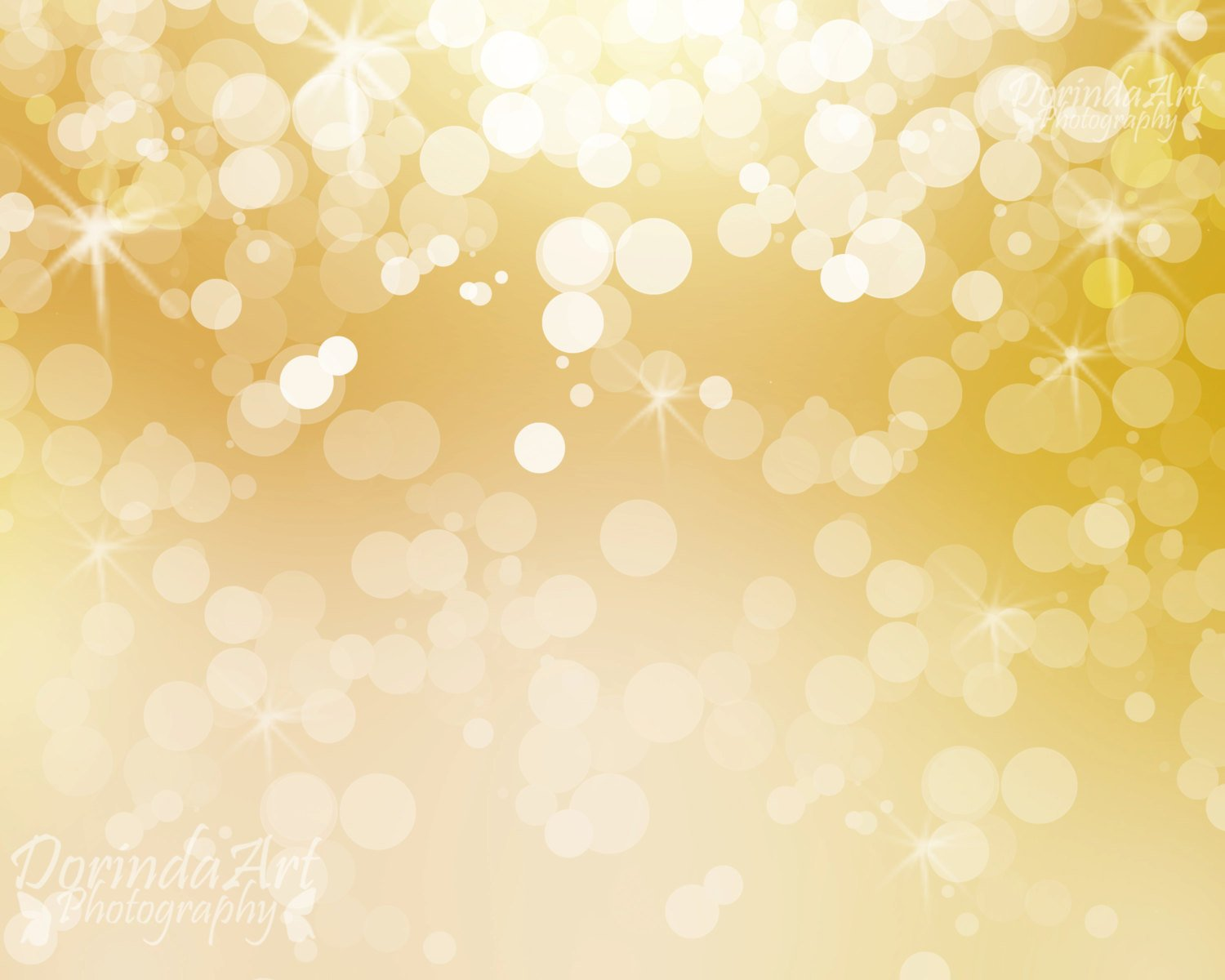 Free Illustration Background Christmas Red Gold: Gold Lights Wallpaper