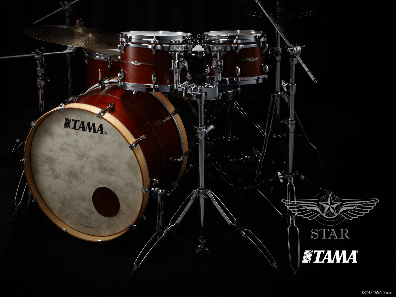 Drums Wallpapers: Tama Drums Wallpaper