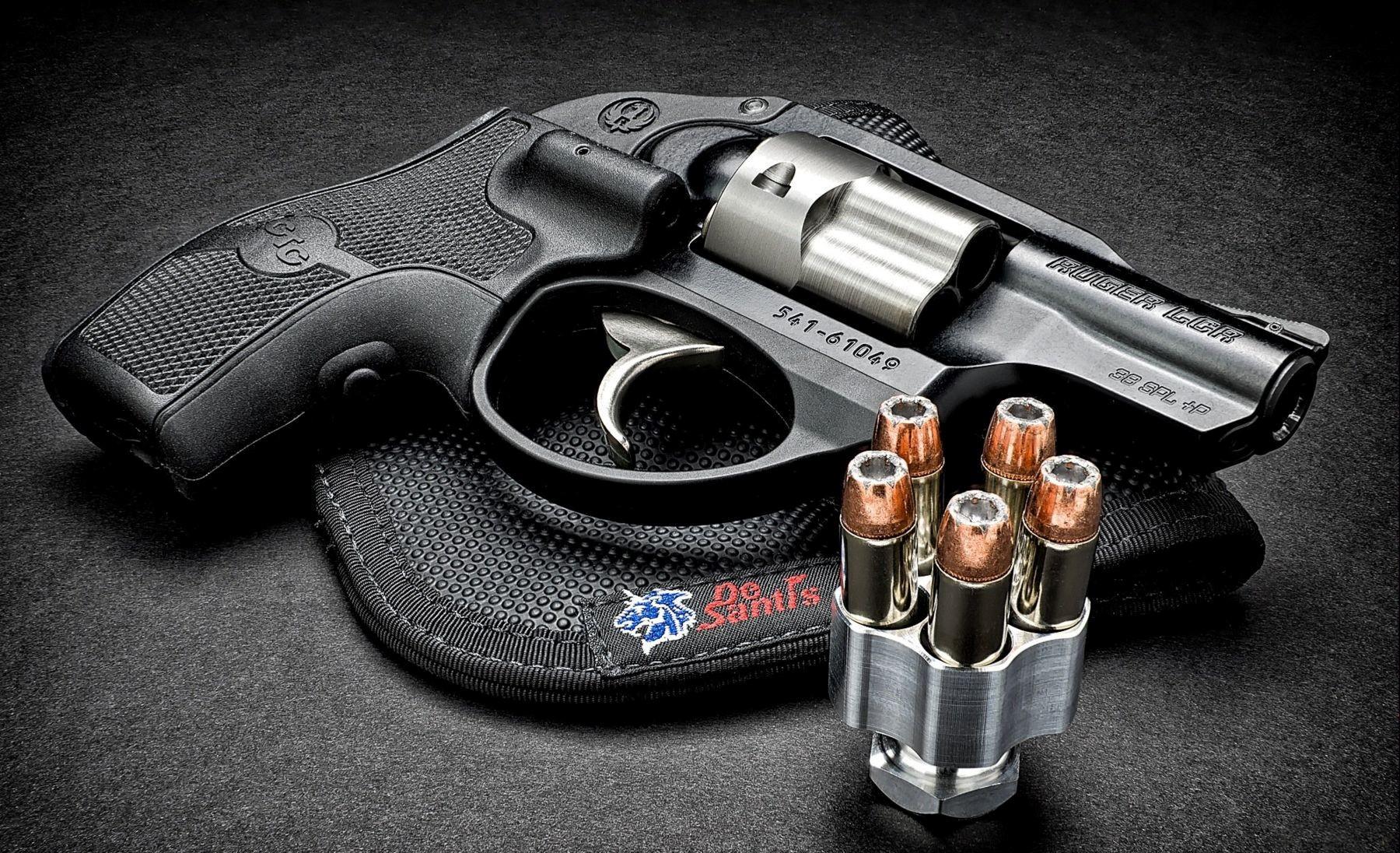 Ruger LCR Small Gun HD Desktop Photos HD Wallpapers 1800x1096