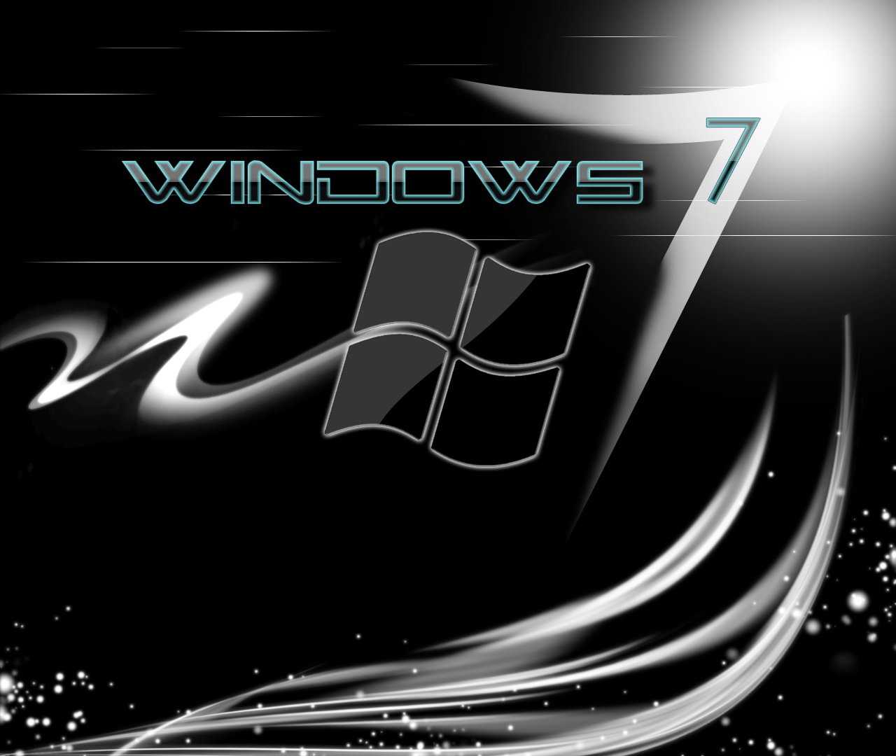 Free Windows 7 Wallpaper Black Lifestylebay Windows