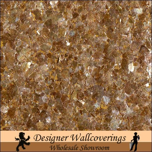 Hiya Mica   Deep Copper [FXX   3219] Designer Wallcoverings 500x500