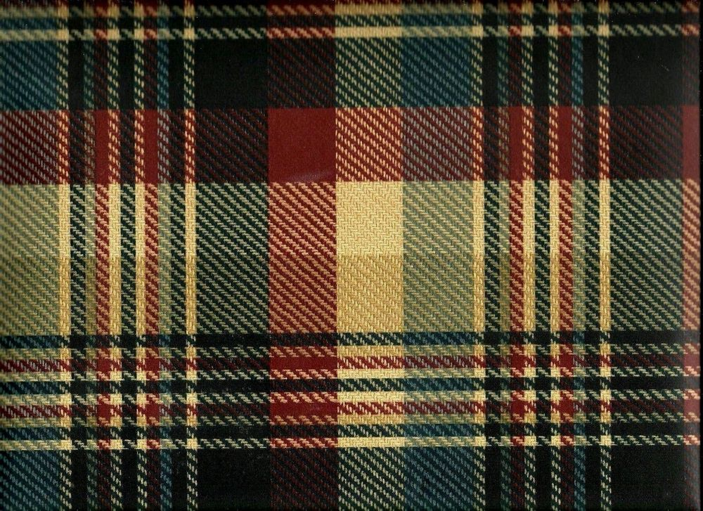 Navy Burgundy and Tan Plaid Wallpaper WL5559 eBay 1000x727