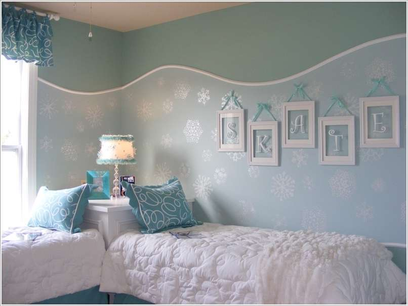 Amazing Interior Design 10 Frozen Movie Inspired Kids Room Decor 806x606