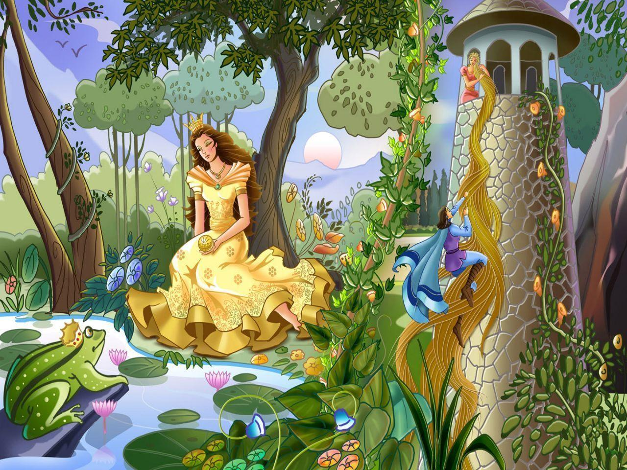 Fairy Tale Backgrounds 1280x960