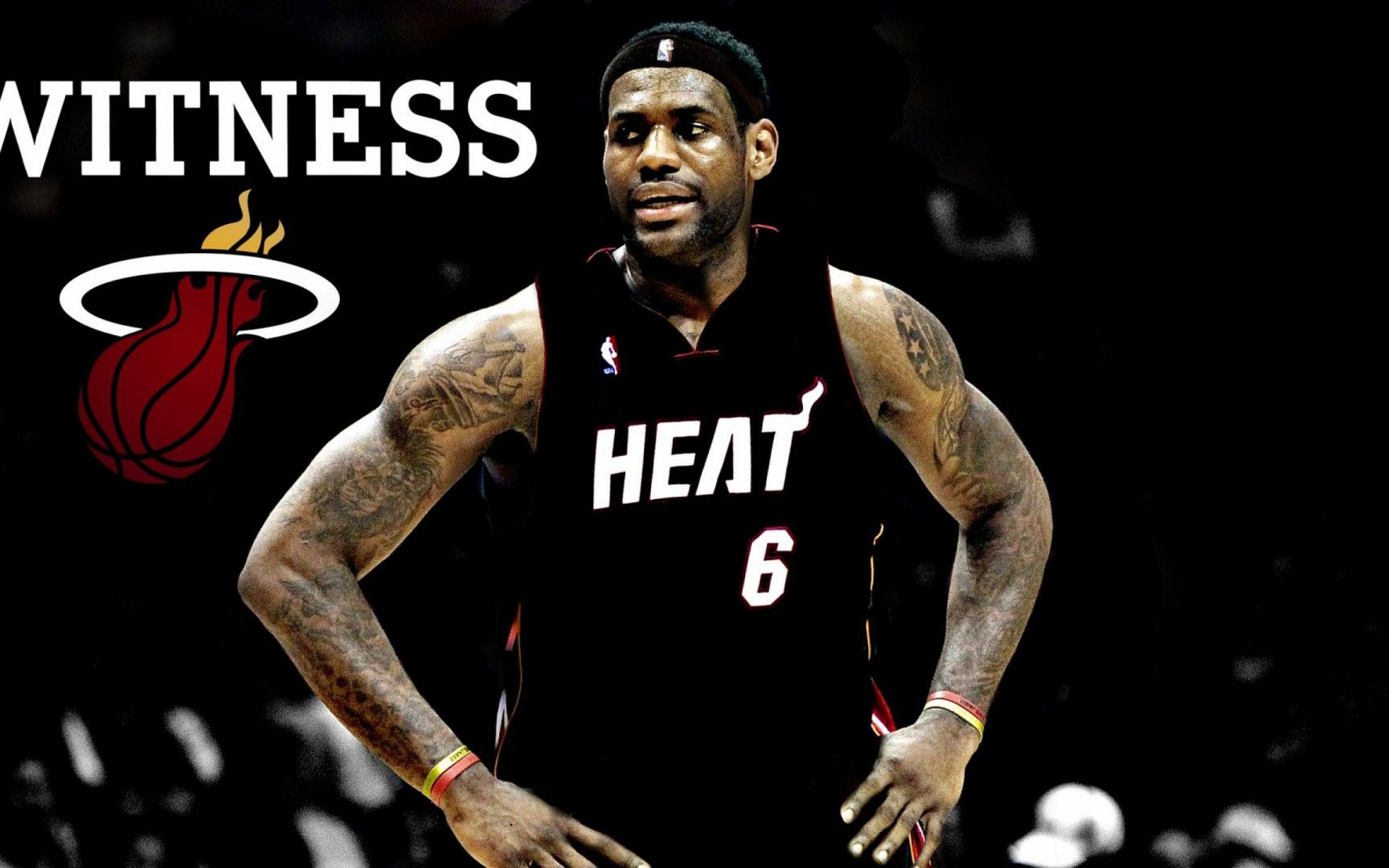Download LeBron James Miami Heat Witness Wallpaper Image id 6308 1920x1200