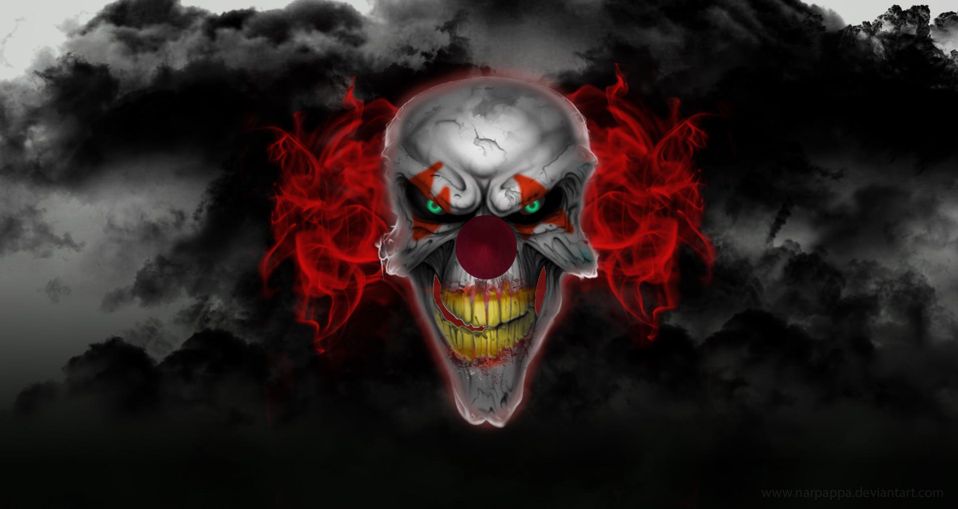 Scary Clown Wallpapers Desktop