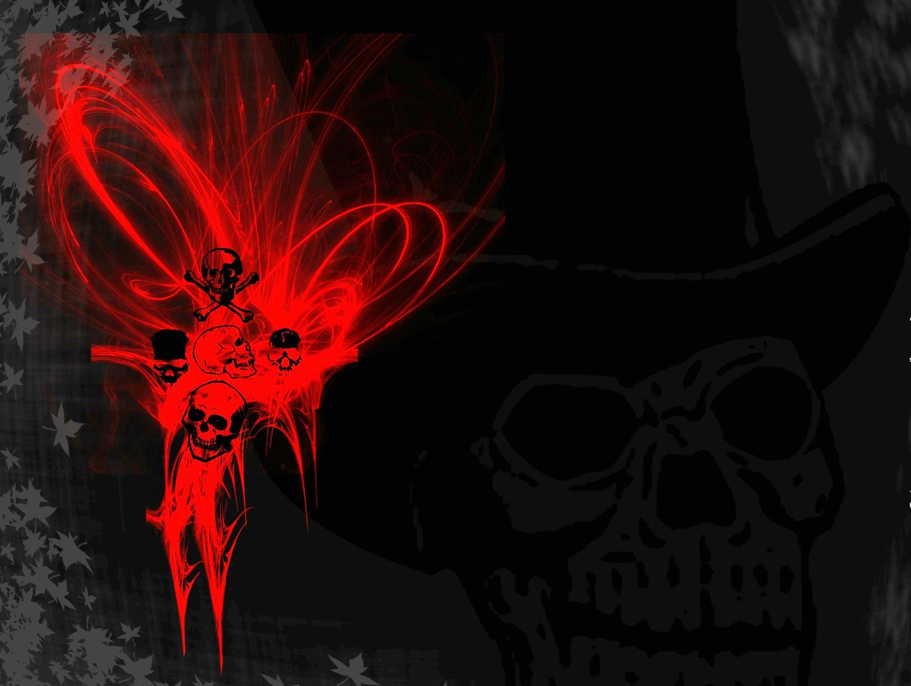 Evil Skulls Wallpaper Wallpapersafari
