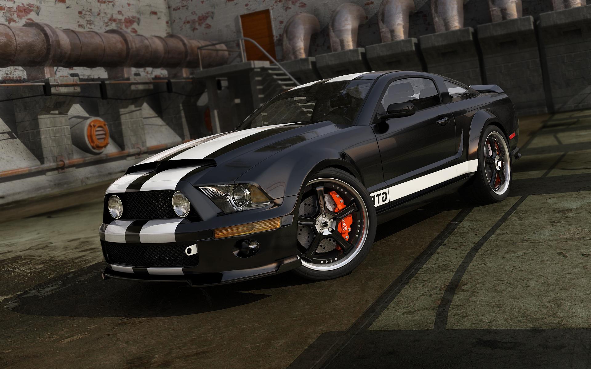 Black Mustang Wallpaper wallpaper Black Mustang Wallpaper hd 1920x1200