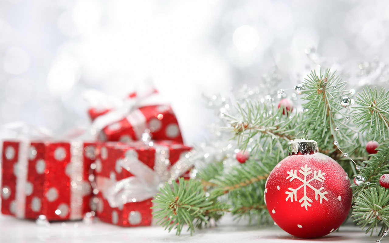 festive Christmas Gifts Photography Wallpaper 5 Holiday Wallpapers 1280x800